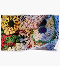 Granny Doilies Poster