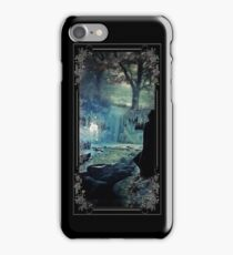 """A Silver Doe"" - vintage framend iPhone Case/Skin"