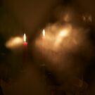 Christmas candles by Algot Kristoffer Peterson