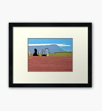 Cressy Rural Framed Print