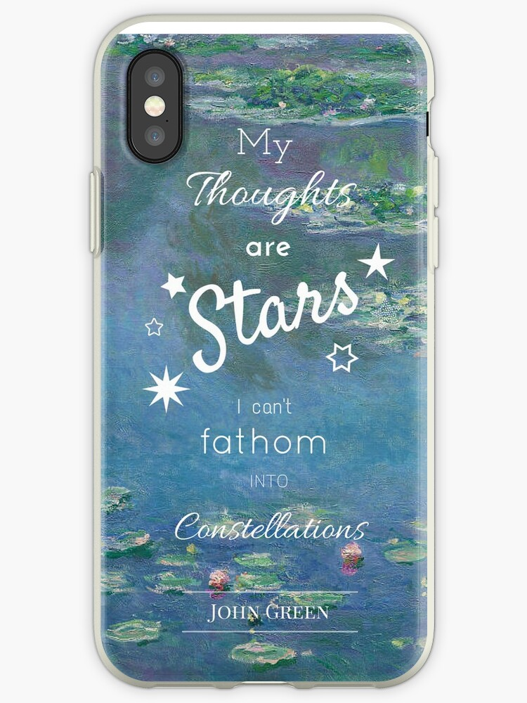 My Thoughts Are Stars The Fault In Our Stars John Green Iphone
