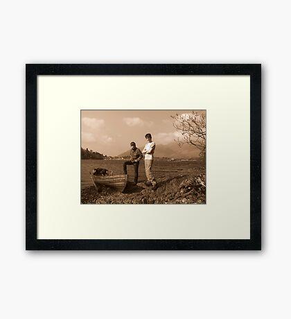 Derwentwater Mooring Framed Print