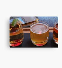 Local Beers Canvas Print