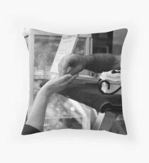 Transaction Throw Pillow