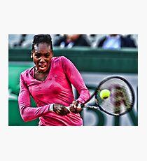 Venus Williams  Photographic Print