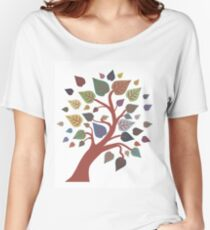 Autumn Tree Women's Relaxed Fit T-Shirt