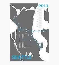 Marathon Map: Wall Art | Redbubble