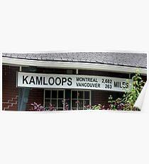 Kamloops Poster