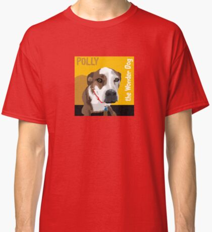 Polly the Wonder Dog Classic T-Shirt