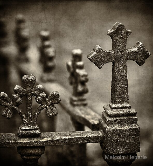 Graveyard Adornments #02 by Malcolm Heberle