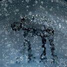 Snow globe walker by SixPixeldesign
