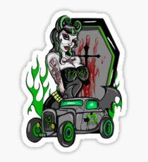 Homicide drive Sticker