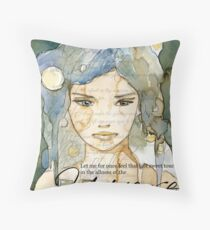 Brink of Eternity Throw Pillow