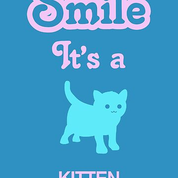 Smile it's a KITTEN Children's Clothing by SmileitsaShirt