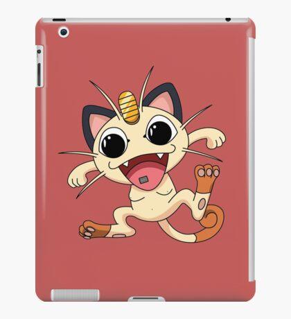 Meowth On Acid iPad Case/Skin