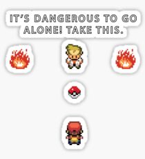 Dangerous to go Alone Sticker