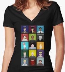 A Doctor a Day Women's Fitted V-Neck T-Shirt
