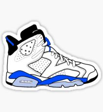 "Air Jordan VI (6) ""Sport Blue"" Sticker"