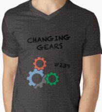 Changing Gears Mens V-Neck T-Shirt