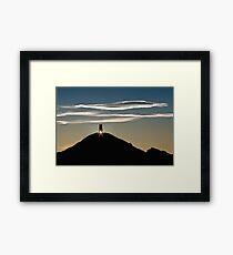 Glastonbury Tor Sunrise Framed Print