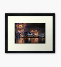 Sydney Fleet Review Framed Print