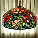 Stained Glass Lamp  by Jane Neill-Hancock