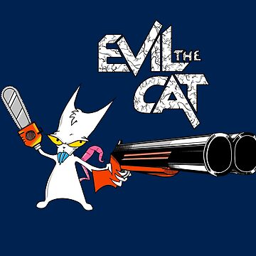 EVIL CAT by catdinosaur