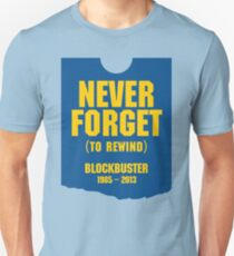Never Forget Blockbuster T-Shirt