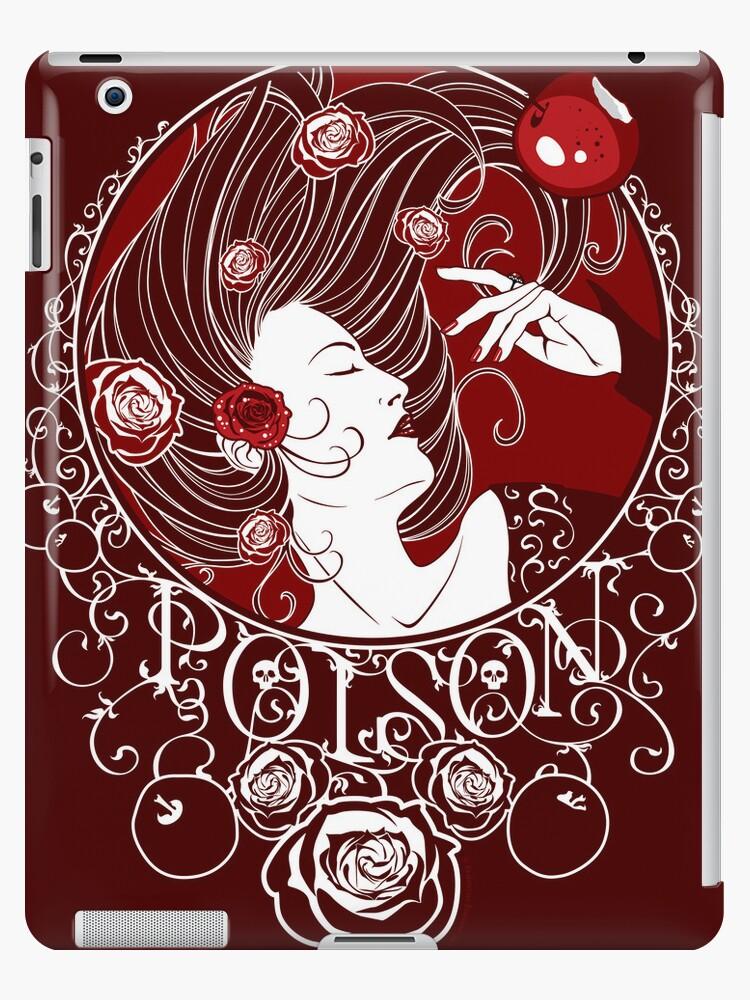 Poison - Blood Rose Full Illustration by Samantha Johnson