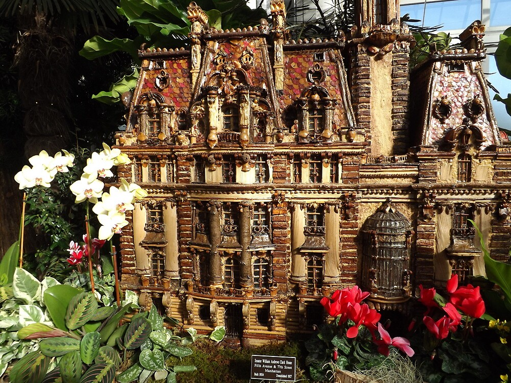 Model Building New York Botanical Garden Holiday Train Show Bronx New York By Lenspiro
