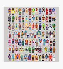 8-bit Masters expanded set Photographic Print