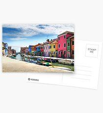 Burano Italy Postcards