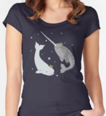 Prince and Princess of Whales Women's Fitted Scoop T-Shirt