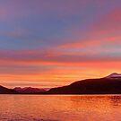 Sunrise over Grundarfordur by Peter Hammer