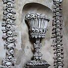 Skulls at Kutna Hora, Czech Republic by Wendy Sinclair