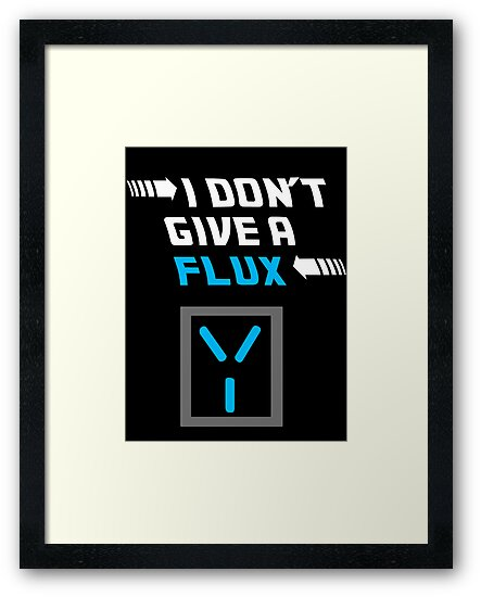 I don't give a FLUX Poster by sparkypchu