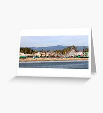 Boardwalk at Santa Cruz Greeting Card