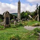 Glendalough Tower, Ireland  by Martina Fagan