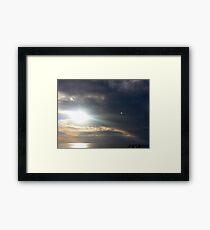 Rays Framed Print