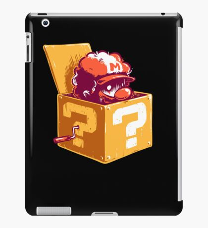 Jack in the Coin Box iPad Case/Skin