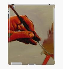 Hand Painted Painted Hand Painting Traditional Painting  iPad Case/Skin