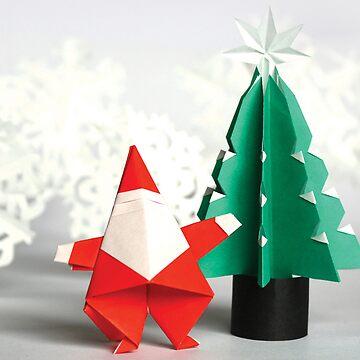 Origami Christmas by midorikawa