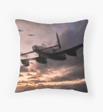 Lancasters Depart Throw Pillow