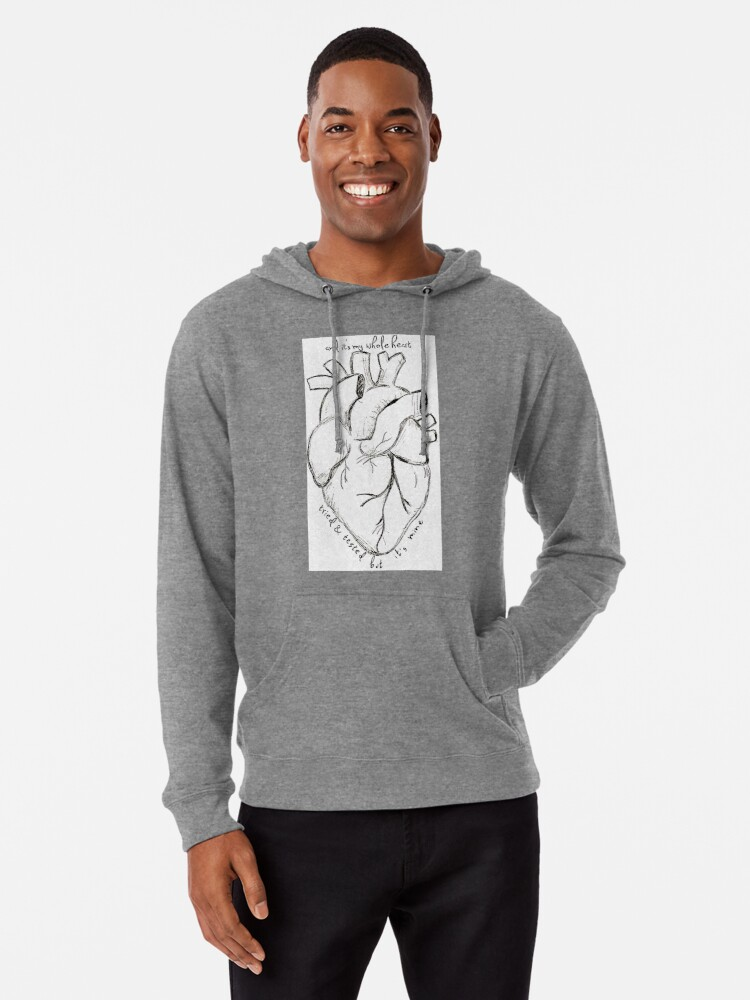 'Florence and The Machine--It's My Whole Heart' Lightweight Hoodie by  ThatLunchBxGirl