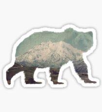 Denali Bear Sticker