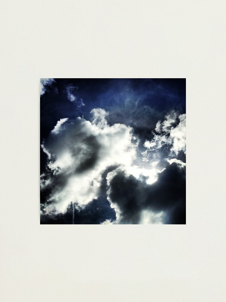 Alternate view of Clouds Photographic Print