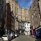 Edinburgh, Scotland by Robert Steadman