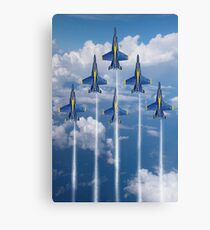 Blue Angels Canvas Print