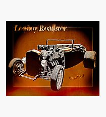 Lowboy Roadster Drawing Ur Wall's Desire Photographic Print