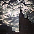 St. Pancras, London by Robert Steadman